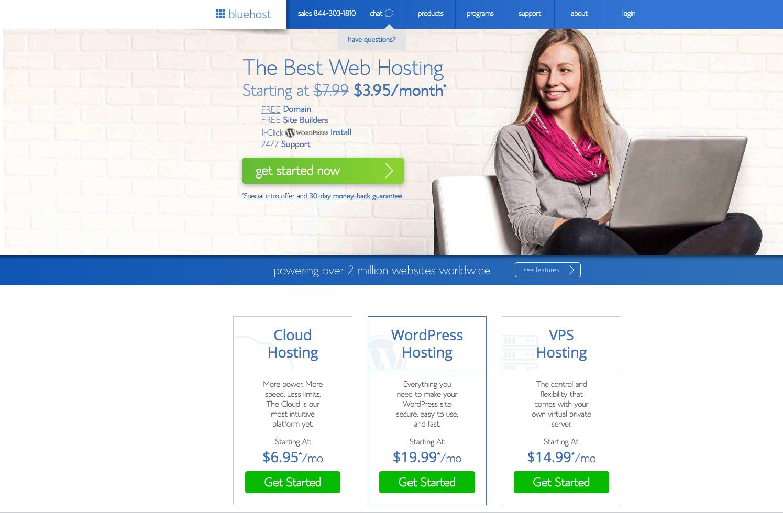 Register Domain and Web Hosting For WordPress Blog